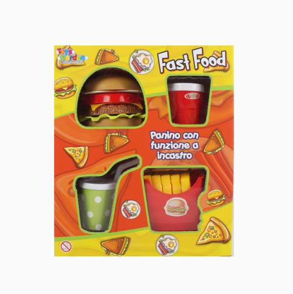 CUCINA FAST FOOD - Toys Garden (26882)