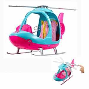 Barbie L'Elicottero, Rosa E Azzurro Con Elica Che Gira, FWY29