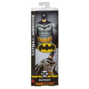 Mattel Personaggio Articolato Batman Grigio Da 30 Cm, Multicolore, FVM70