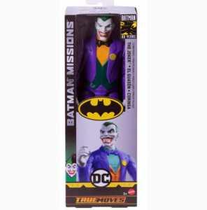 Batman Joker Personaggio Articolato Con 11 Punti Di Movimento, Multicolore, 30 Cm GCK91