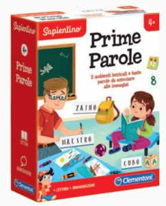 SAPIENTINO PRIME PAROLE - Clementoni (16140)