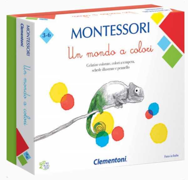 GIOCO UN MONDO A COLORI MONTESSORI - Clementoni (16136)