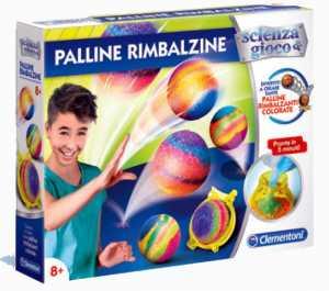 Clementoni Scienza E Gioco-Palline Rimbalzine, Multicolore, 19081