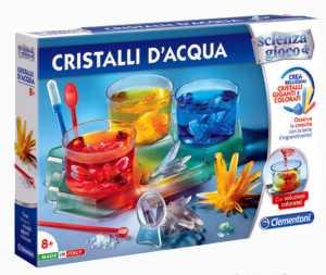 Clementoni Scienza E Gioco-Cristalli D'Acqua, Multicolore, 19086