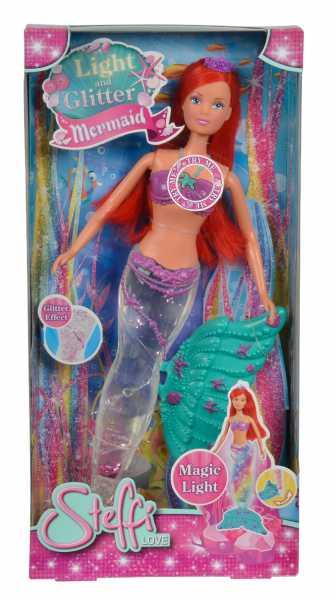 Simba Steffi Love Sirena Glitter, Colore Rosa, 105733049