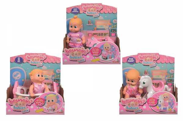 Bambola/e LITTLE BOUNCIN BABIES SUONI MOVIMENTO 3 MODELLI - Simba (105143324)