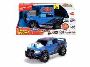 Dickie Toys 203764004Music Camion Giocattolo Auto Con Motore, Di Luce E Suono Funzione