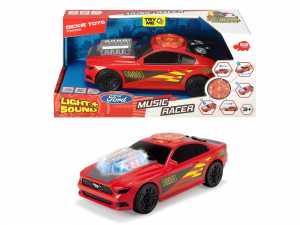 Dickie Toys 203764003Music Racer Macchina Giocattolo Con Motore, Funzione Di Luce E Suono