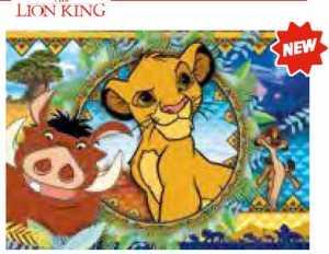 PUZZLE 104 Pezzi LION KING - Clementoni (27287)