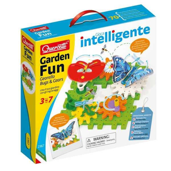 Quercetti & C SpA Garden Fun Georello Bugs & Gears