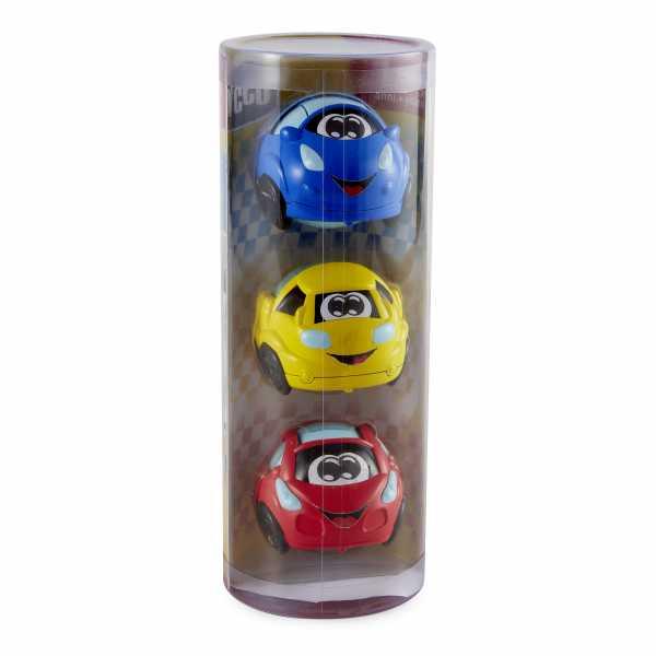 Chicco 00009753000000 Turbo Ball - Set Di 3 Palline, Multicolore