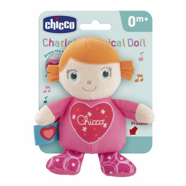Chicco - Carillon Charlotte Peluche Musicale, 00009718000000