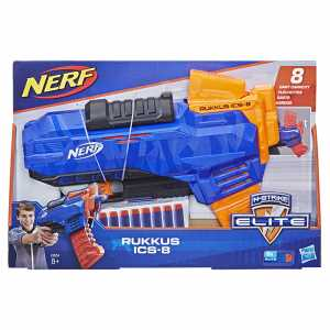 Nerf Elite Rukkus ICS 8, Multicolore