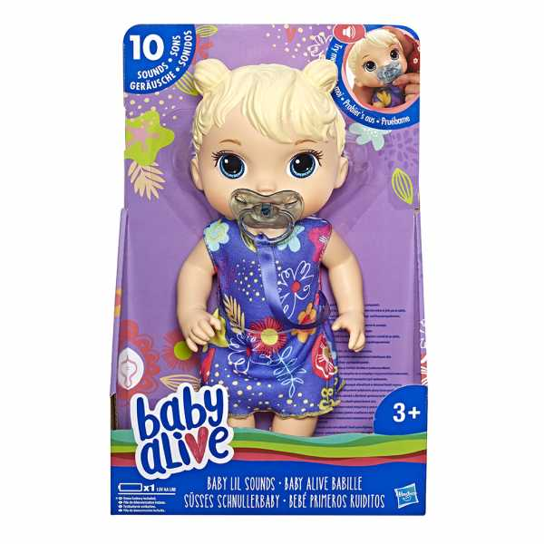 Baby Alive - Dolci Versetti (Bionda)