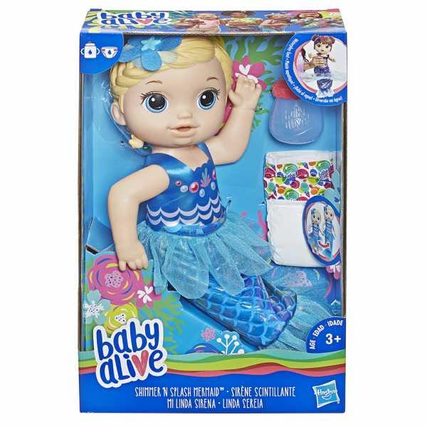 Baby Alive - Magica Sirena (Bionda)