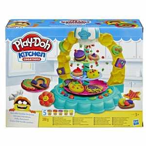 Play-Doh La Giostra Dei Dolcetti, Multicolore
