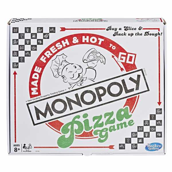 Monopoly Pizza, Multicolore