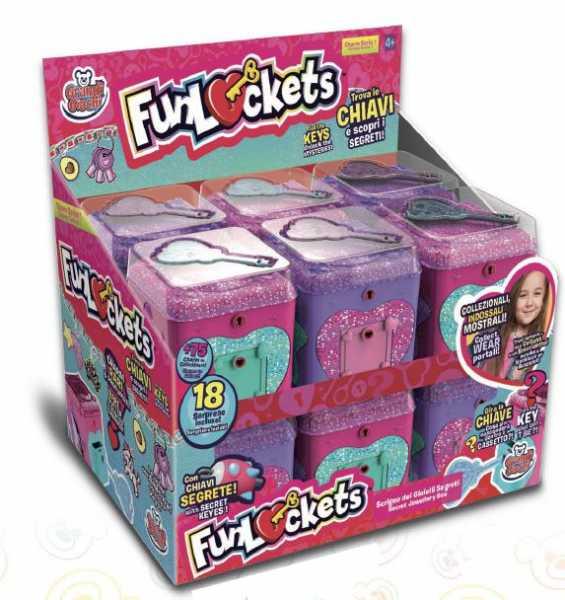 Grandi Giochi GG02772 FunLockets, Multicolore