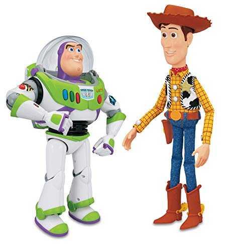 Giochi Preziosi 4-PELUCHES Con SONIDO Toy Story Peluche Con Suoni Personaggi E Playset Unisex, Multicolore, 8056379080022
