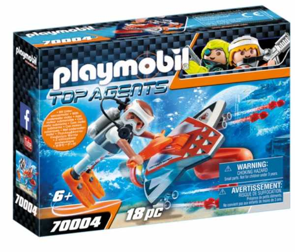 Playmobil 70004 - Manta Turbo Spy Team