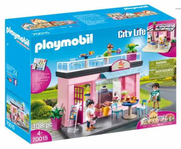 Playmobil City Life 70015 - My Cafè, Dai 4 Anni
