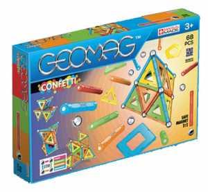 Geomag Confetti Costruzioni Magnetiche E Giochi Educativi Con 68 Pezzi