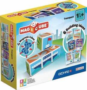Geomag - MAB19 - Magicube Transport Con 4 Cubi