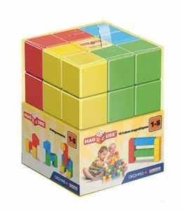 Geomag Magicube Free Building Con 16 Cubi