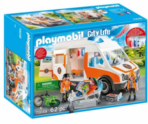 Playmobil 70049 - Ambulanza