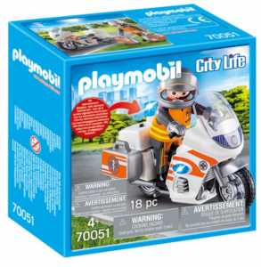 Playmobil 70051 - Moto Pronto Intervento