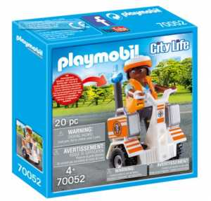 Playmobil City Life 70052 - Balance Scooter Emergenze, Dai 5 Anni