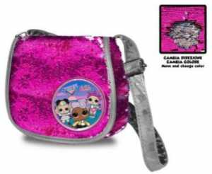 Lol Surprise Bolso De Lol Surprise Borsa Messenger 40 Centimeters Multicolore (Multicolore)