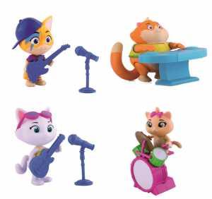 Simba Toys, 44 Gatti-Personaggio 8 Cm Polpetta Merchandising Ufficiale #GIOCHERIA, ND, TU