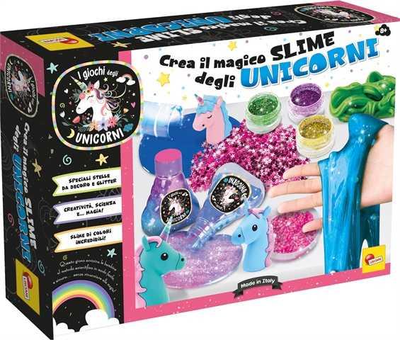 Liscianigiochi Crea I Magici Slime Degli Unicorni, 70336