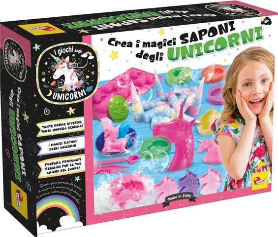 Liscianigiochi La Fabbrica Delle Saponette Degli Unicorni, 70350