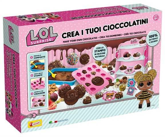 Liscianigiochi LOL Surprise Crea I Tuoi Cioccolatini, Multicolore, 70503