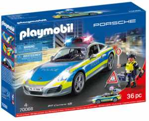 Playmobil City Action 70066 - Porsche 911 Carrera 4S Police, Dai 4 Anni