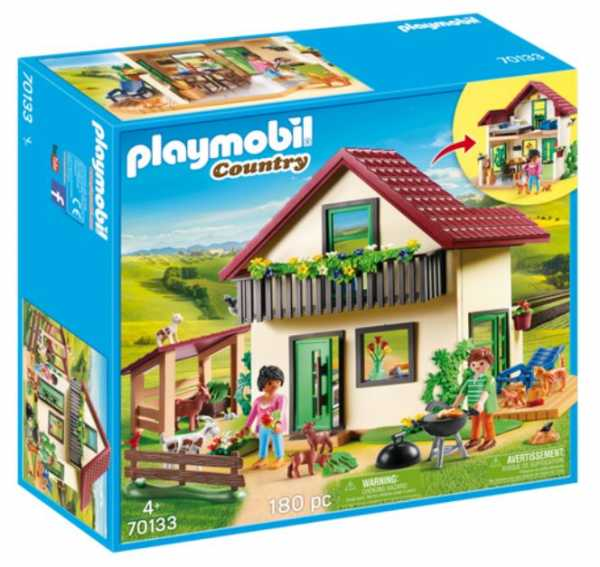PLAYMOBIL  CASA CON ALLEVAMENTO BIO (70133)