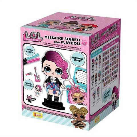 Lisciani Giochi - LOL Surprise Messaggi Segreti Con Playdoll, Multicolore, 69461