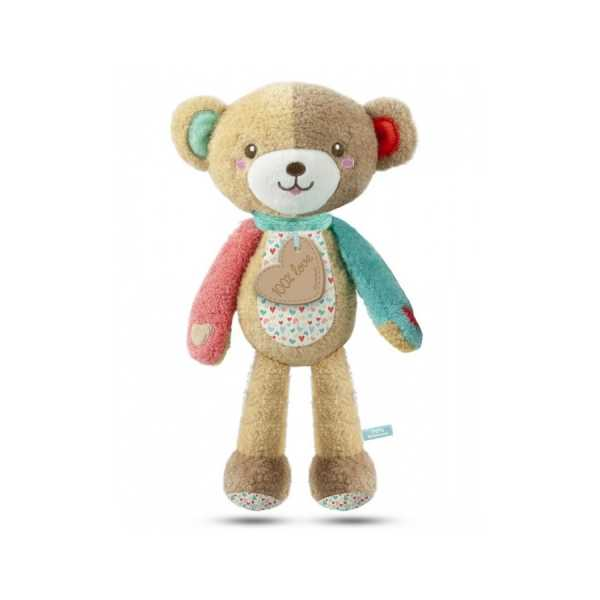 Clementoni Clementoni-17267-Baby For You-Love Me Bear, Gioco Primi Mesi, Multicolore, 17267