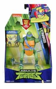 Giochi Preziosi Turtles PERS DLX Attack Con SUON Rise Of The Teenage Mutant Ninja Turtles