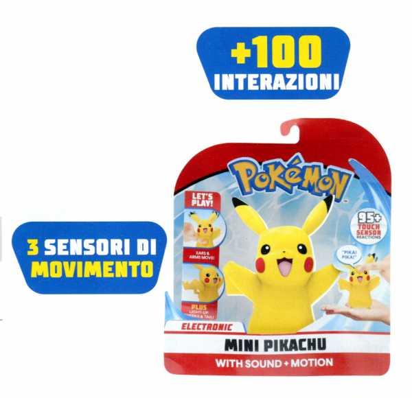 Giochi Preziosi - Pokemon My Partner Pikachu Personaggio Interattivo, 10 Cm, PKE18000