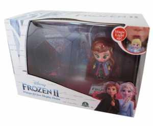 Giochi Preziosi-FRN73000 Frozen 2 Whisper & Glow Display House Personaggi E Playset, Multicolore, 8.05638E+12