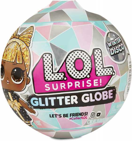 Giochi Preziosi - L.O.L Surprise! Glitter Globe Winter Disco, LLU99000