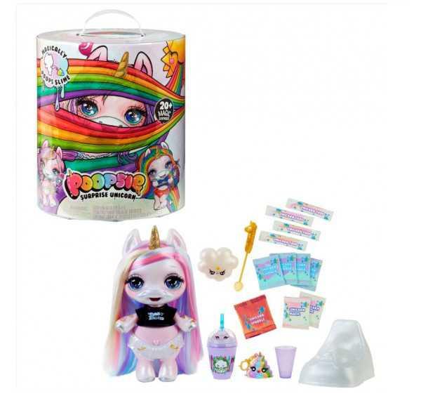 Giochi Preziosi Poopsie Poosie Unicorn Con Un Magico Pancino, Modelli Assortiti