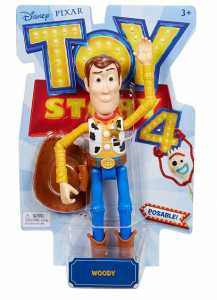 Mattel- Figura Basica Toy Story Woody MOD SDOS Multicolore (gdp68