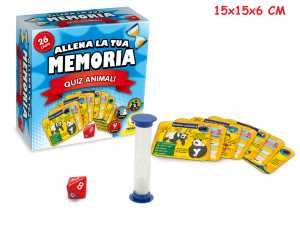 GIOCO SFIDA LA TUA MEMORIA ANIMALI - Teorema (66204)