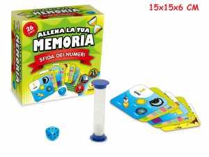 GIOCO SFIDA LA TUA MEMORIA NUMERI - Teorema (66203)