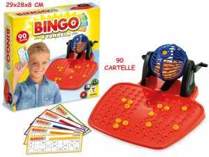 Teorema Gioco Bingo 90 Cartelle - Box Merchandising Ufficiale