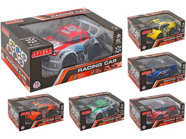 Globo- R/C Car 1:20 7 Functions With Light 3 MOD. 2 (38882), Multicolore (1)